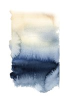 Blue & Gold Abstract I Fine Art Print