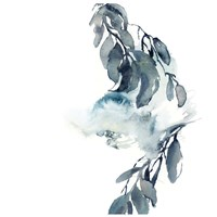 Simple Blue II Fine Art Print