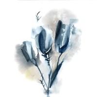 Simple Blue III Fine Art Print