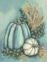 Blue Harvest II Fine Art Print
