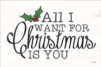 All I Want for Christmas Fine Art Print
