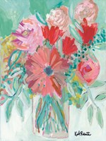 Farmer's Market Bouquet Fine Art Print