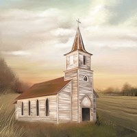God's House Fine Art Print