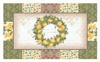 Lemon Wreath Fine Art Print