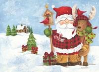 Lodge Santa Fine Art Print