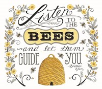 Listen to the Bees Fine Art Print