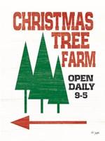 Christmas Tree Farm Fine Art Print