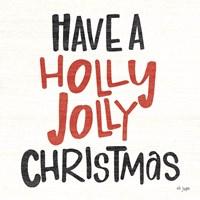 Holly Jolly Christmas Fine Art Print