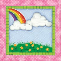 Rainbow & Clouds Fine Art Print