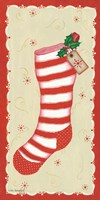 Vintage Stocking Fine Art Print