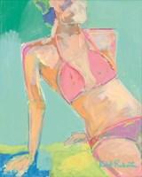 Sunbather Series:  Following the Sun Fine Art Print
