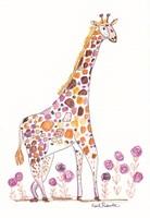 Giraffe, Giraffe, Make Me Laugh Fine Art Print