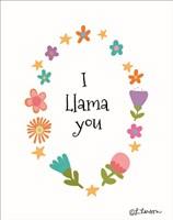 I Llama You II Fine Art Print