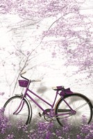 Ultra Violet Bicycle Fine Art Print