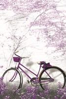 Ultra Violet Bicycle Fine Art Print
