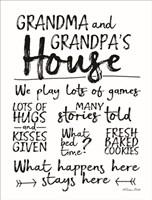 Grandma and Grandpa's House Fine Art Print