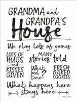 Grandma and Grandpa's House Fine Art Print