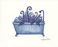 Breathe Tub Fine Art Print