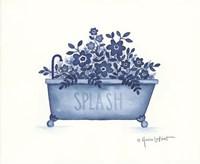 Splash Tub Fine Art Print