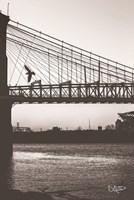 Suspension Bridge II Fine Art Print