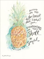 Blessed Pineapple Fine Art Print