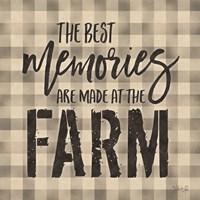 Best Memories Framed Print