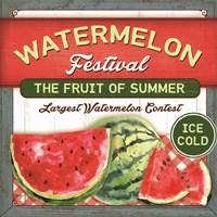 Watermelon Festival Fine Art Print