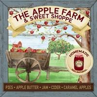 The Apple Farm & Sweet Shoppe Fine Art Print