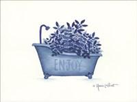 Enjoy Tub Fine Art Print