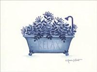 Relax Tub Fine Art Print