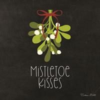 Mistletoe Kisses Fine Art Print