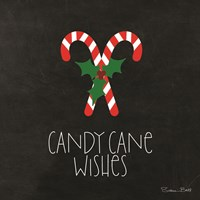 Candy Cane Wishes Fine Art Print