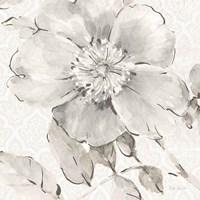 Indigold V Gray Fine Art Print
