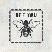 Bee Stamp Bee You Fine Art Print