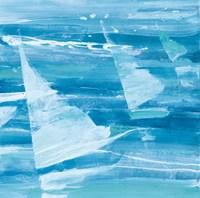 Summer Sail II Blue Fine Art Print