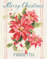 Floursack Holiday Bright III Framed Print