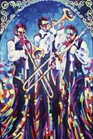Jazz New Orleans Framed Print