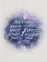 Starlight Astology Sagitarius Fine Art Print