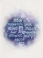 Starlight Astology Scorpio Fine Art Print
