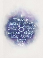 Starlight Astology Taurus Fine Art Print