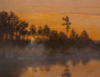 Wicomico Creek Sunset Fine Art Print