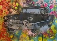 55 Cadillac Fine Art Print