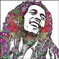Bob Marley 3 Fine Art Print
