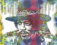 Jimi Drip VIII Fine Art Print