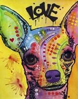 Chihuahua Drip Love Fine Art Print