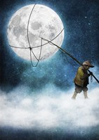 Moonwalk Fine Art Print