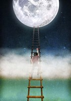 Reach for the Moon Fine Art Print