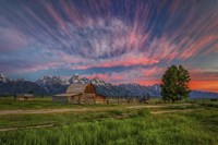 Beneath Teton Glory Fine Art Print