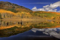 Reflecting On Autumn Fine Art Print