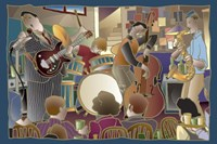 Jazzband 2 Fine Art Print